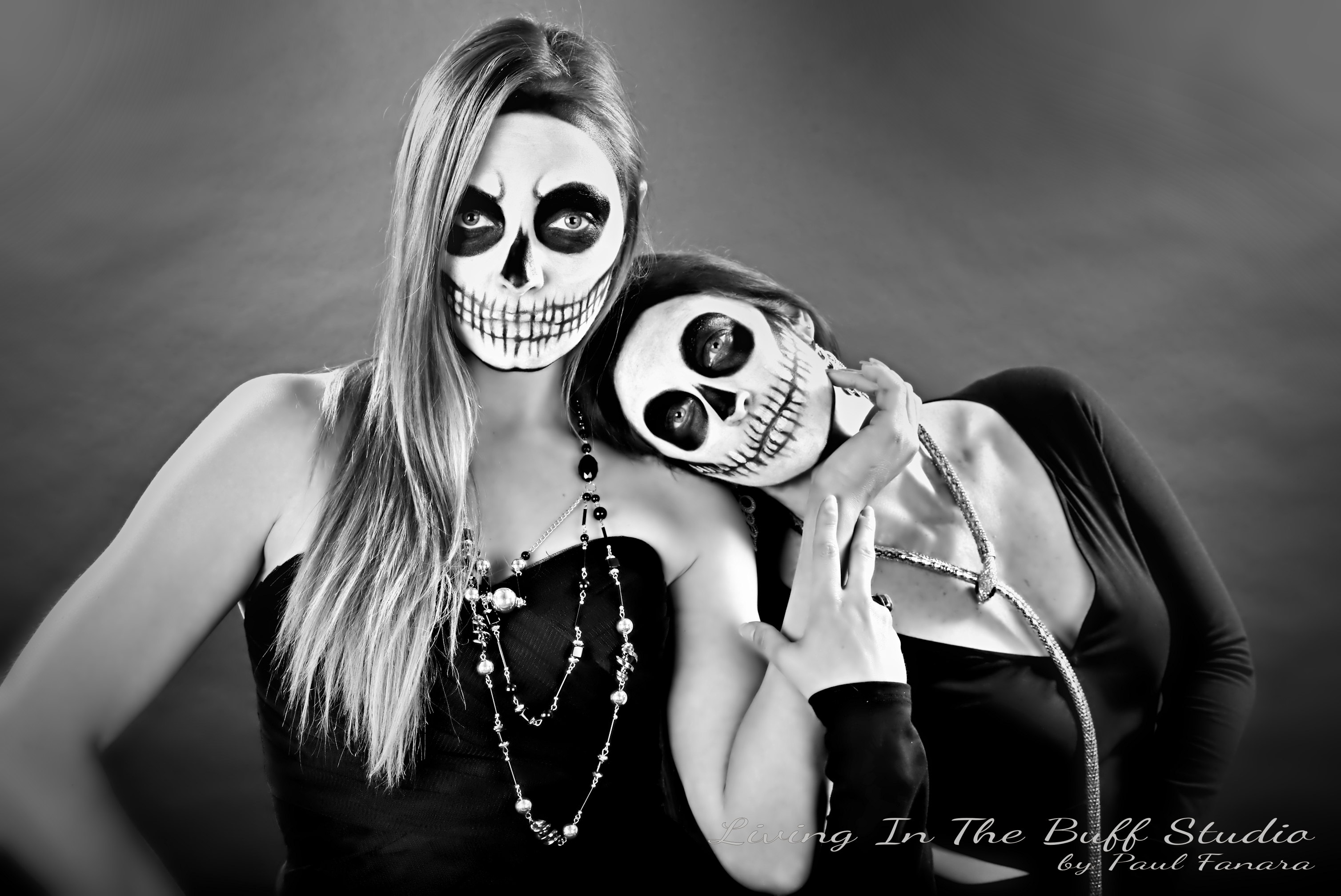 Promo shoot for Buffalo's Witches Ball - Featuring Jessica and Cortney