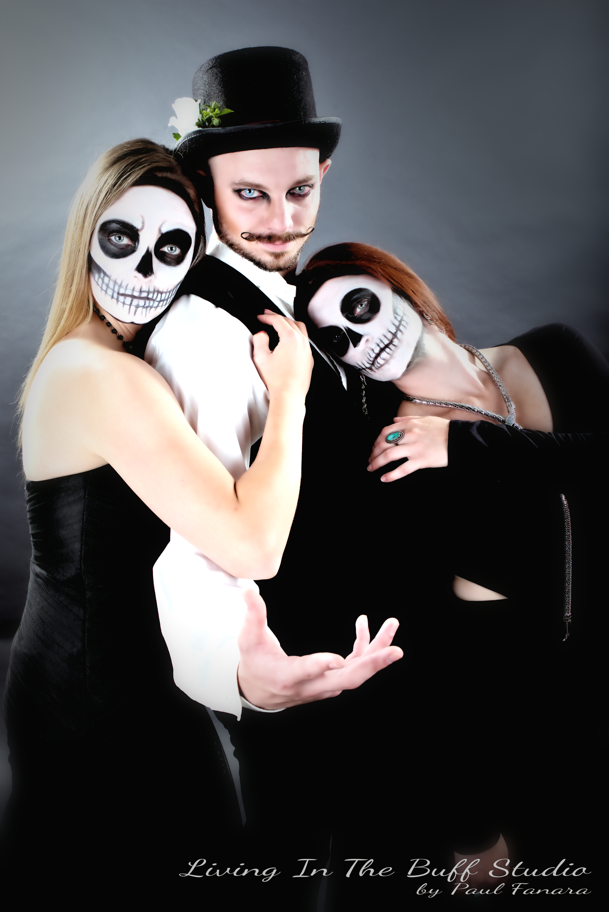 Promo shoot for Buffalo's Witches Ball - Featuring Jessica, Mike and Cortney