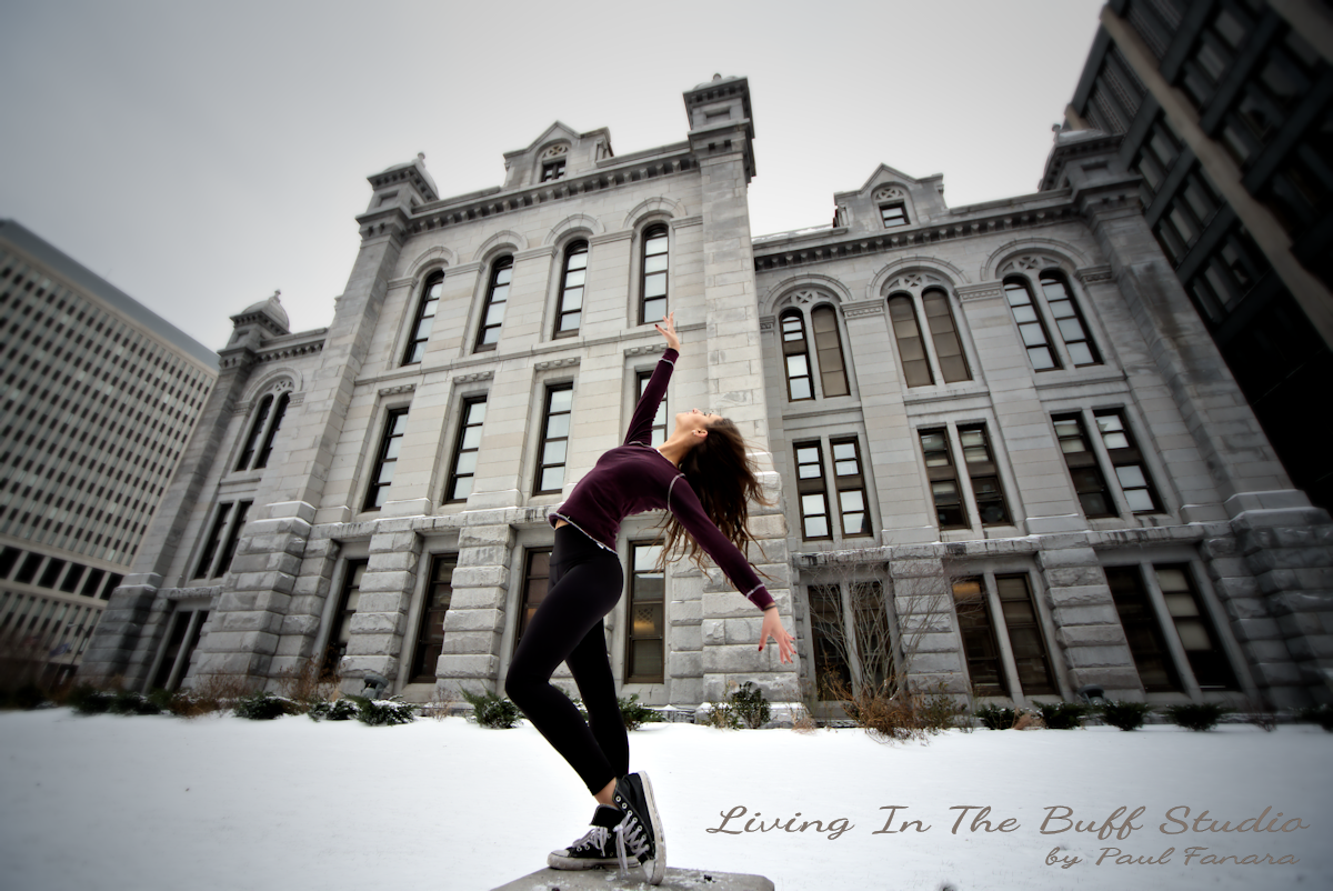 Dance Modeling Around Buffalo with Ginger Page