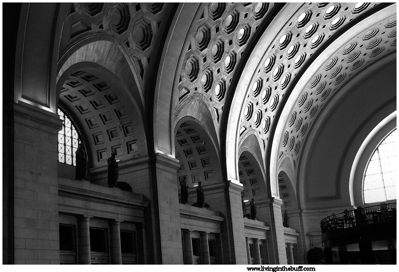 The Union Station Atrium. Washington, DC