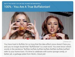 100% Buffalo. Did you expect less?